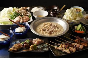 志木にある鶏料理専門の居酒屋「とりいちず」のメニュー